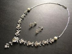 Excited to share this item from my shop: Romantic silver flowers wedding necklace, rhinestones crystals necklace, bridal necklace, wedding set, statement necklace, for her, prom #wedding #artnouveau #earrings #blingglam #silvernecklace #jewelryforwomen #jewelryset Bridal Necklace, Crystal Necklace, Crystal Rhinestone, Romantic Flowers, Wedding Flowers, Jewelry Sets, Women Jewelry, Silver Flowers, Flower Pendant