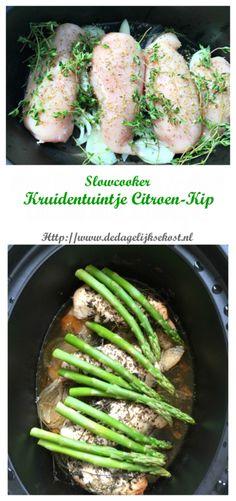 """""""Kruidentuintje"""" Citroen-Kip uit de Slowcooker of oven – De Dagelijkse Kost"""