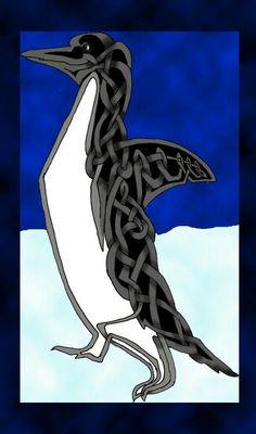 Celtic penguin