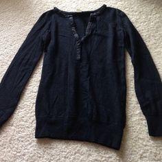J. Crew wool sweater Black JCrew wool sweater. Size small J. Crew Sweaters