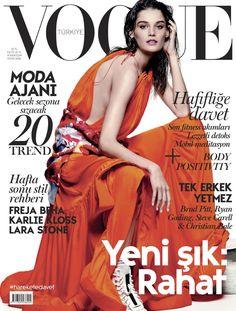 Angela Rutledge, Vogue Magazine [Turkey] (January 2016)