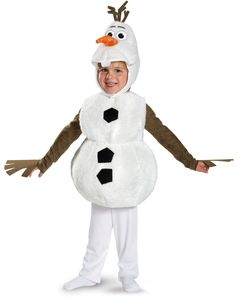 Frozen - Olaf Deluxe Baby / Toddler Costume from CostumeExpress.com