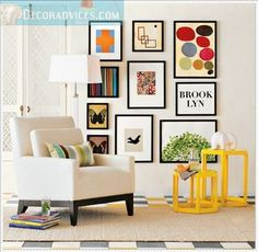 Cheap Wall Decorations for Living Room | cheap living room and wall decor Home Decorating Ideas On A Low Budget