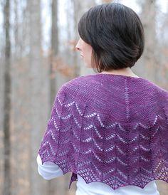 Ravelry: CatReadings Traveling Shawl  #Knit