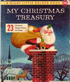 Lowell Hess My Christmas Treasury Golden book