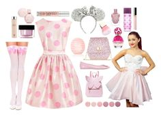 """""""Trip To Disneyland ♡"""" by xx-isabella-xx on Polyvore featuring Disney, Bellagio, Monsoon, Roger Vivier, Sophia Webster, Marc Jacobs, Eos, Deborah Lippmann, Givenchy and AEOS"""