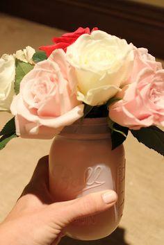 Pretty flower arrangements for bridal/baby shower
