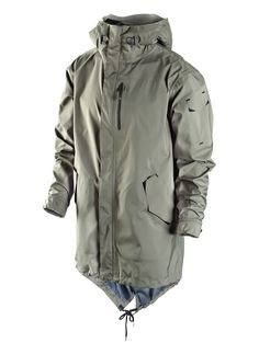 Nike Sportswear NSW Parka: Never shying away from the great military silhouettes over the years, Nike Sportswear's NSW Work Casual, Casual Tops, Men Casual, Work Jackets, Men's Coats And Jackets, Tactical Shirt, Outdoor Men, Cold Weather Outfits, Outfits
