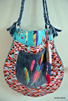 Claudis Atelier: Tropfentasche ♥ Sew Along