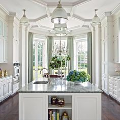 """693 Likes, 12 Comments - Cullman & Kravis Associates (@cullmankravis) on Instagram: """"Easy to spend the day cooking for Thanksgiving in a kitchen this gorgeous!⠀ Photo by…"""""""