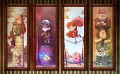 They really should do a Gravity Falls ride at Disneyland. Love this homage to the Haunted Mansion.<<<they need a ride at disney Fall Wallpaper, Gravity Falls, Star Vs The Forces Of Evil, Dipper And Mabel, Art, Anime, Cartoon, Gravity Falls Art, Autumn Art