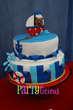 Sailor/nautical Birthday Party Ideas | Photo 2 of 22 | Catch My Party
