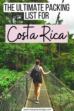 Want to know what to pack for a trip to Costa Rica? Look no further than this epic, comprehensive packing list covering everything you need to bring to costa rica. Costa Rica outfits, what to bring to costa rica, costa rica packing, costa rica travel, costa rica backpacking, clothes for costa rica, costa rica travel insurance, costa rica packing list women, central america packing list, costa rica packing guide, 1 week in costa rica, 2 weeks in costa rica, costa rica in july costa rica in august Travel Route, Peru Travel, Honduras, Magical Vacations Travel, Travel Destinations, Travel Articles, Travel Info, Travel Guides, Travel Tips