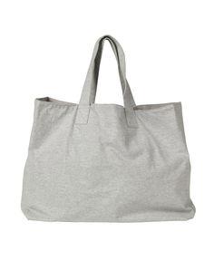 hush | Grey Marl Jersey Bag | Loungewear and Accessories from hush | hush-uk.com