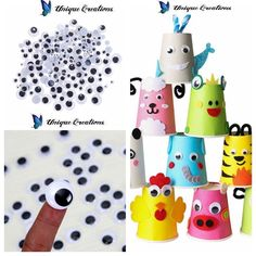 x craft googly self adhesive joggle eyes. Peel off Backing Paper & Stick. Self Adhesive. Wooden Craft Sticks, Craft Stick Crafts, Crafts For Kids, Googly Eye Crafts, Fake Eye, Bazaar Ideas, Googly Eyes, Diy Toys, Adhesive
