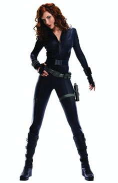 Black Widow from Iron Man 2 and The Avengers, for the kick ass redhead