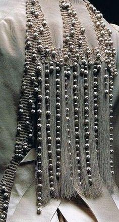 Worth - Veste de Soirée - Faille de Soie et Perles - 1885