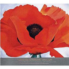 Georgia O'Keeffe: Red Poppy Poster - Posters & Prints - Wall Art - The Met Store