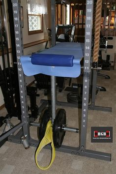 Homemade Reverse Hyperextension Machine. The reverse hyper is a great exercise for targeting your posterior chain which comprises of the lower back, glutes, and hamstrings.