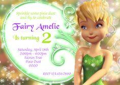 free tinkerbell birthday invitation templates – invitationlayout, Birthday invitations