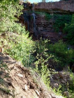 Trestle Trails and Waterfall, New Mexico -by TrailDirt