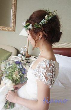とっても可愛い花嫁さまのこだわりお洒落Wedding♡♡ の画像|大人可愛いブライダルヘアメイク 『tiamo』 の結婚カタログ
