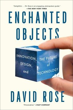 To contemplate all the possibilities that this book presents its exciting...i might love my gadgets a bit to much :) Today's screen-based devices slow society down. The arrival of enchanted objects, devices with a single design purpose and connection to the cloud, brings what was once seen as science fiction closer to reality. From enchanted bathroom scales to crystal balls, we'll soon be able to upgrade the objects in our lives, making them automated, more efficient and intuitive.
