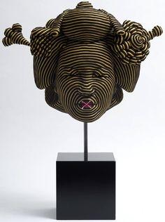 Rope Sculpture by Mozart Guerra