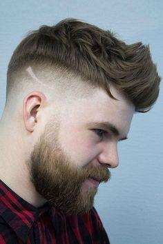Faux Hawk Fade ❤ #lovehairstyles #menshair #hairstylesformen #menshaircuts Unisex Haircuts, Haircuts For Men, High Top Fade Haircut, Short Cropped Hair, Popular Short Haircuts, Pompadour Fade, Crop Haircut, Textured Haircut, Undercut Men