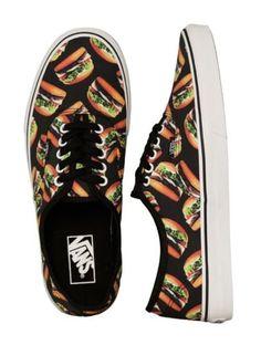 538e2b52d7 New VANS Mens 8 Womens Authentic Late Night Black Hamburgers Sneakers Shoes