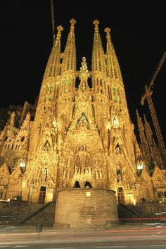 La Sagrada Familia Church, Barcelona, Spain