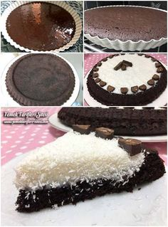 Hindistan Cevizli Tart Kek Tarifi Delicious Chocolate, Chocolate Desserts, Chocolate Cake, Coconut Tart, Turkish Kitchen, Turkish Recipes, No Bake Desserts, Cake Cookies, Yummy Cakes