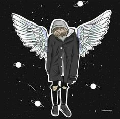 Find images and videos about wings, Leo and BAM on We Heart It - the app to get lost in what you love. Non Fiction, Let You Go, Sad Girl Quotes, Bars And Melody, Leo Girl, Wattpad, Cute Guys, We Heart It, Doodles