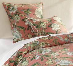 Hampshire Palampore Duvet Cover & Sham #potterybarn  Don said that i could get this for our king size bed.