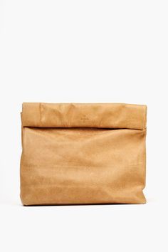 The Picnic Clutch - Tan in Accessories at Nasty Gal
