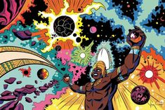 <p>Passionate about comics, Brazilian illustrator Hugo Canuto took the greatest stories from Yoruba African mythology, and convert them to the universe of Comic books. He always been fascinated by the