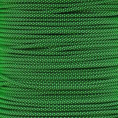 Neon Green Diamond - 550 Paracord - 100 Feet