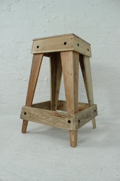 Nesting Pallet Stools by WoodwiseUrbanDesigns on Etsy