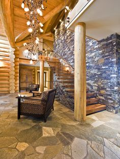 rustic and contemporary