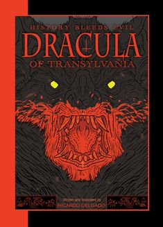 """Like nothing you've seen before"" Ricardo Delgado chats with James about Dracula of Transylvania, currently on Kickstarter."