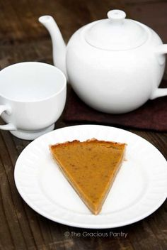 Clean Eating Pumpkin Pie some one used w/w tortilla as a crust too