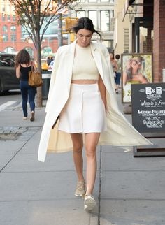 We are loving Kendall Jenner's sporty chic US Open outfit