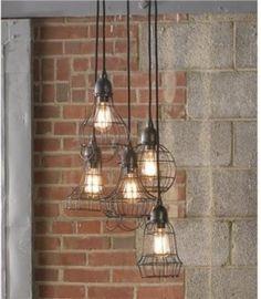 Industrieel interieur - industriële lampen industriële verlichting hanglampen