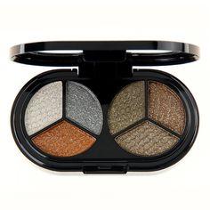 De alta calidad de 6 colores de sombra de ojos brillo nude sombra de ojos profesional paleta de maquillaje de sombra de ojos mate