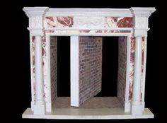 "Secret Fireplace Door, want this in the master bedoom to a ""SECRET"" room. Secret Space, Secret Rooms, Secret Secret, Super Secret, Hidden Spaces, Hidden Rooms, Passage Secret, Hidden Passageways, Hidden Door Bookcase"