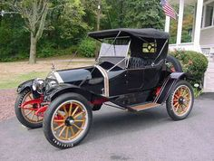 1913 Crow Elkhart Roadster - (Crow Car Company, Elkhart Indiana 1909-1924)