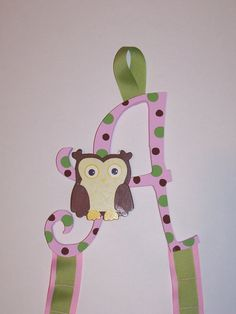 Custom Headband, Hairbow, Accessory Holder for Girl's Room! $20