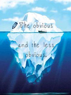 Iceberg thinking