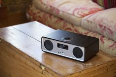 Ruark Audio R2 MK3 music system in soft black. Features DAB/DAB+/FM/Internet radio, bluetooth and spotify connect