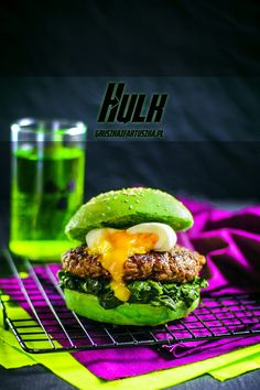 avengers hulk burger